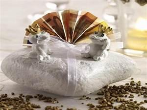 Hochzeitsgeschenke mit geld basteln