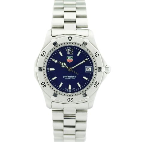 Tag Heuer Wk1113-1 Stainless Steel Watch-boca Raton