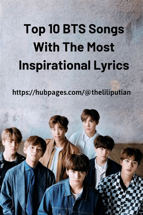 Top 10 BTS Songs With The Most Inspirational Lyrics - HubPages