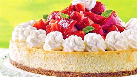 dessert au fruit frais g 226 teau new yorkais au fromage et fruits frais