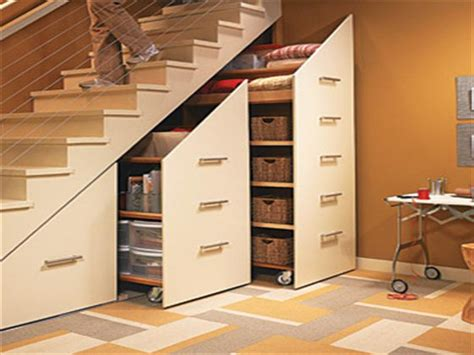 adorable space saving bedroom stair storage with