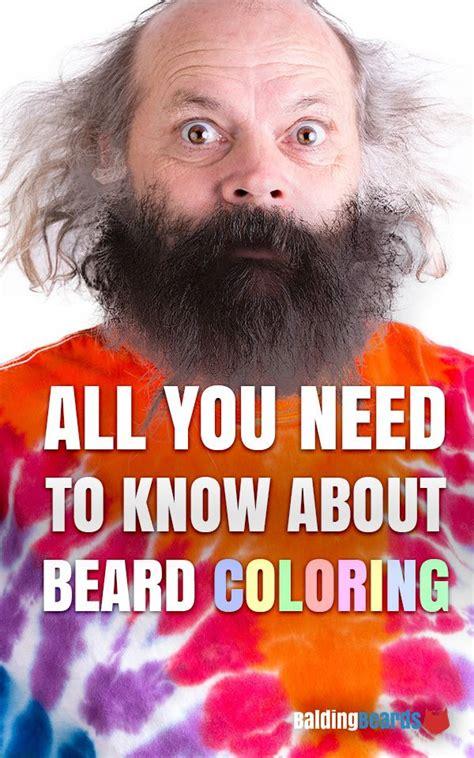 color beard ideas  pinterest  styles