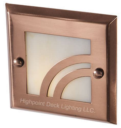 Home Depot Recessed Deck Lighting by Highpoint Apex Deck Step Light