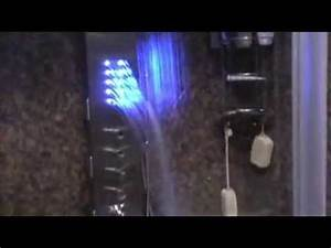 Led Licht Nachrüsten : duschpaneel mit led licht youtube ~ Orissabook.com Haus und Dekorationen