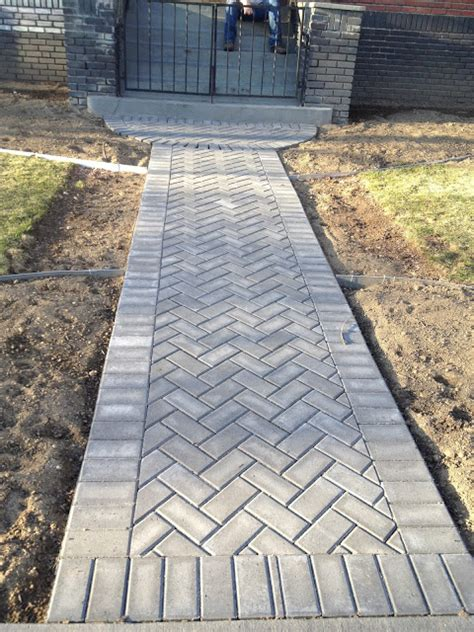 sidewalk paver designs sidewalk brick pinterest sidewalk walkways and patios