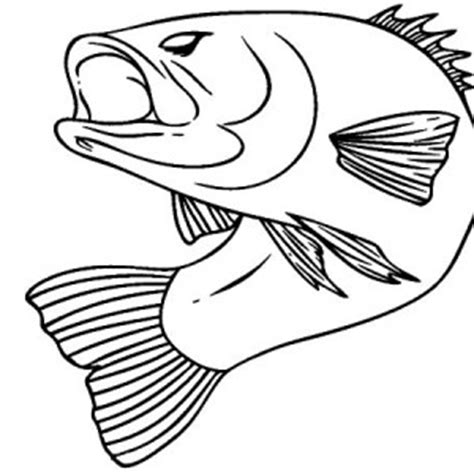 Fish With Coin In Mouth Page Coloring Pages