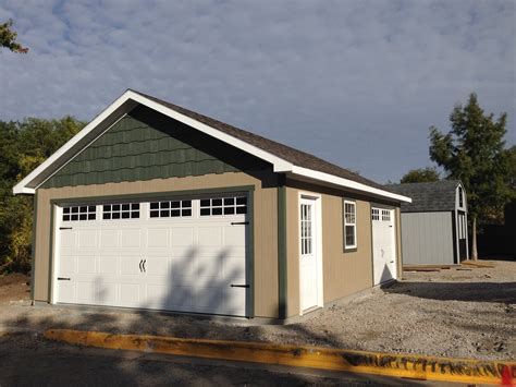 One Car Garage > Portable Buildings Storage Sheds Tiny