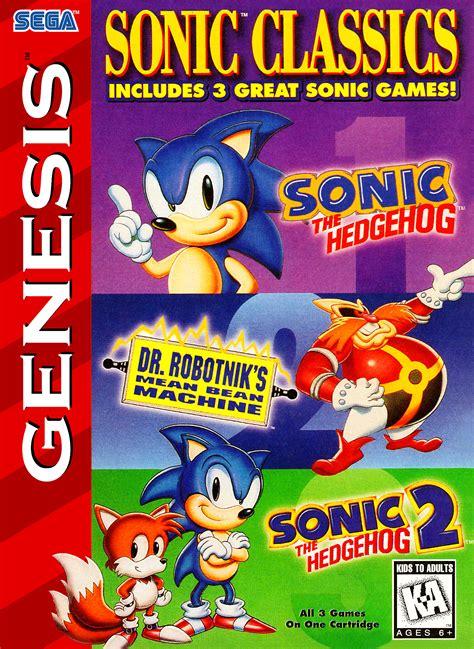 sonic classics details launchbox games
