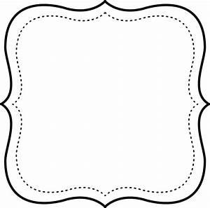 Marcos en Blanco y Negro para Imprimir Gratis MARCOS Y