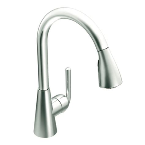 moen touch kitchen faucet moen s71708 ascent one handle high arc pulldown kitchen