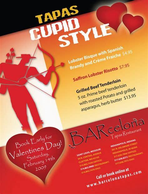 Classy Valentines Day Restaurant Ads