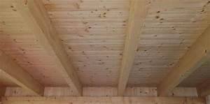Holzbalkendecke