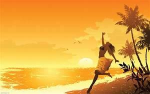 3D Summer Desktop Wallpaper - WallpaperSafari