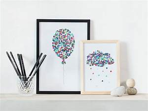 DIY – Illustrations with hole puncher