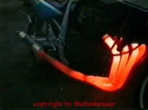 rupteur rupture moto pot echappement feu