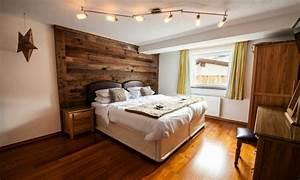 Deco Chambre Bois : d co chalet montagne une centaine d 39 id es pour la chambre coucher ~ Melissatoandfro.com Idées de Décoration