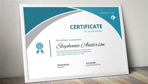 sample certificate templates