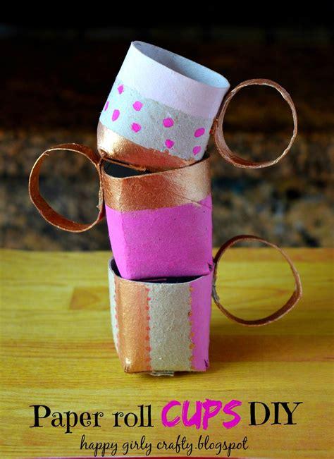 toilet paper roll tea cups allfreekidscraftscom