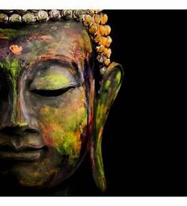 Buy Wall Decor Canvas 24 x 24 Inch Buddha Frame Framed Art