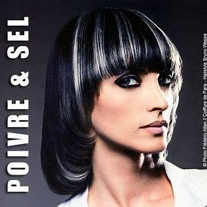 Coiffeuse Noir Et Blanche : coupe de cheveux noir et blanc ~ Teatrodelosmanantiales.com Idées de Décoration