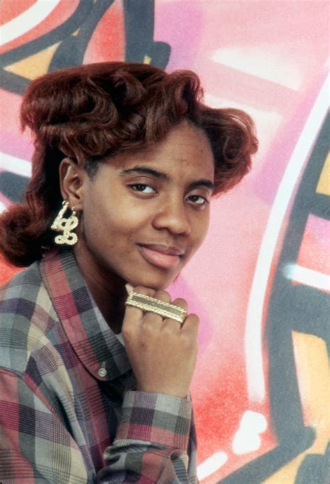 90s Hip Hop Hairstyles by Mc Lyte I Had This Hairstyle And Color For The