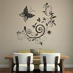 Wall art vinyl gloss for Vinyl wall decor