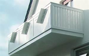 Balkongeländer Glas Anthrazit : balkongel nder ab werk kunststoff oder alu ~ Michelbontemps.com Haus und Dekorationen
