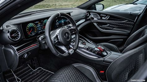 Graphite grey metallic with red bk interior. 2021 BRABUS ROCKET 900 ONE OF TEN based on Mercedes-AMG GT 63 S 4MATIC+ - Interior | HD ...