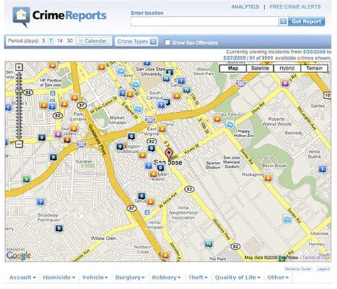 free crime reports wpd teams with crimereports