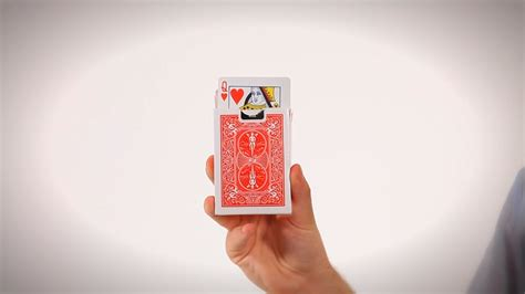card magic how to do the rising card trick coin card magic youtube