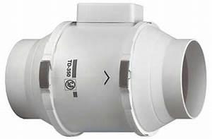 Extracteur D Air Electrique : unelvent td350 125 extracteur d 39 air conduit 250455 td 350 125 ~ Premium-room.com Idées de Décoration