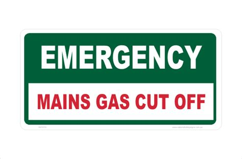 gas cut  sign national safety signs   store