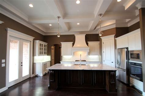 couto custom home painted cabinet finish sherwin williams