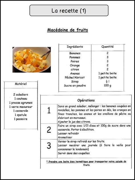 chambre b b pratique davaus modele fiche recette cuisine word avec des