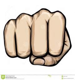Punching Fist Clip Art