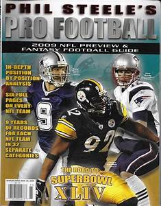 Phil Steele Pro Football Magazine Nfl Fantasy Guide