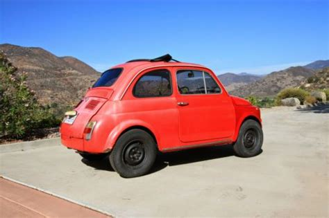 Classic Fiat 500 Parts by Find Used 1971 Fiat 500 L Italian Classic Upgraded Motor