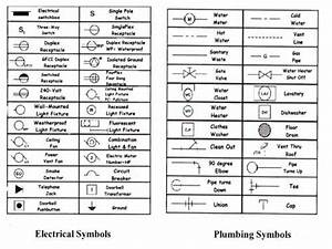 Architectural Electrical Plan Symbols Standard Electrical ...