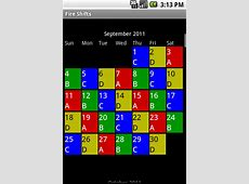 Fire Shifts Fire Fighter and EMS calendars for Android & iOS