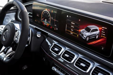 Explore vehicle features, design, information, and more ahead of the release. 2021 Mercedes-AMG GLS 63 Interior Photos | CarBuzz