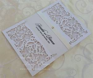 laser cut wedding invitation x pocket invitations vintage With laser cut wedding invitations los angeles