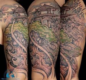 Tatouage Arbre Japonais : album tatouage asiatique de steven chaudesaigues ~ Melissatoandfro.com Idées de Décoration