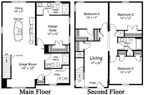 floor plans for two homes restore the shore collection by ritz craft custom homes