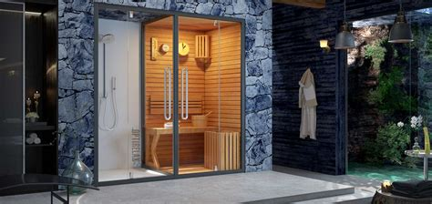 Duschkabine Mit Sauna by Dfdusche Mit Aufgusssauna Optirelax 174