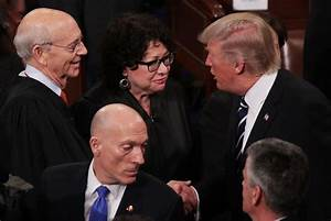 Sonia Sotomayor in Donald Trump Delivers Address to Joint ...