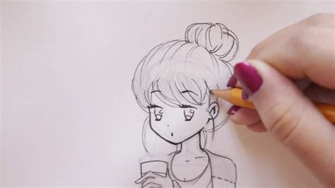starbucks girl drawing  getdrawingscom