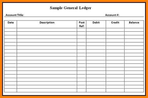 bookkeeping ledger sheets ledger review