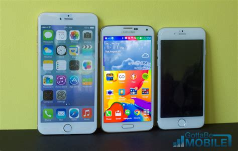 iphone 6 vs galaxy s5 iphone 6 vs galaxy s5 5 key details