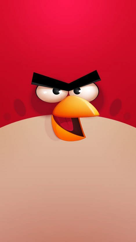 angry birds red iphone wallpaper iphone wallpapers