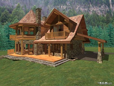 Log Home Cabin Packages Kits